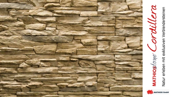 Steine kleben wand